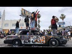 Rabování a nepokoje v druhém největším americkém městě - situace v Los Angeles DTLA - YouTube