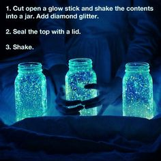 """""""Fireflies In A Jar"""" Night Lantern #Beauty #Trusper #Tip"""