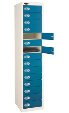Fifteen Tier Probe Lockers These steel coloured Probe lockers are manufactured to the highest specification Lockers are welded and rivetted in Storage Shelves, Shelving, Locker Storage, Locker Supplies, Plastic Lockers, Environmental Management System, Cupboard, Cabinet, Steel Locker