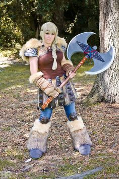 how to train your dragon 2 Astrid cosplay