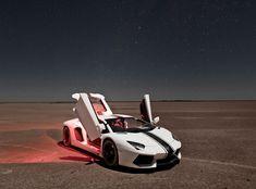 Lamborghini Aventador At Kalahari Desert By Luke Daniel.