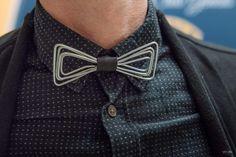 Wire bowtie  www.artbending.ro