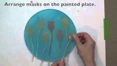 Round Monoprinting Plate by Gelli Arts
