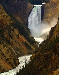 Favorite Places: Artist's Point, The Lower Falls of the Yellowstone River