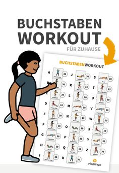 Letter workout for home (homeschooling) - vlamingo - This letter workout was designed based on happyteacher_. Learning To Write, Kids Learning, Bikini Body Workout Plan, Learn To Dance, Home Schooling, Kids Sports, Primary School, Classroom Management, Montessori Preschool