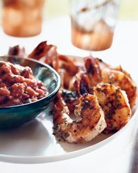 Ginger-Garlic Shrimp with Tangy Tomato Sauce Recipe on Food & Wine