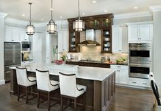 You want the kitchen to be functional, but it also has to match the quality of decor in the rest of your home. New kitchen options give new design options.