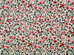 """*Italienisches Papier Carta Varese - Dekor 908 - """"Blumenwiese rot""""*(Blütenmotiv < 1cm)     Carta Varese, der ebenso elegante wie beliebte Buntpapier-K"""