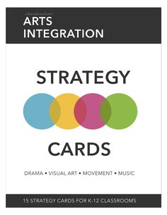 Check out these free cards full of arts integration strategies for your classroom! These STEAM activities for kids are sure to spark student creativity. Steam Activities, Activities For Kids, Elements Of Art Space, Arts Integration, Free Cards, Design Thinking, Art Education, Integrity, Teaching Resources