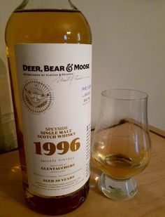 Deer, Bear & Moose 1996 (106.2 proof) is distilled by Glentauchers, Speyside, for Flaviar members.  The nose is oaky, with dried fruit and spice; the flavor sweet, dominated by oaky vanilla with notes of fruit, spice and leather.  Ocean brine, smoke and peat are low, common to the Speyside area.  I was able to buy one only by entering for the chance to, so who is to say how limited it really is.  Still quite good, bottle #145