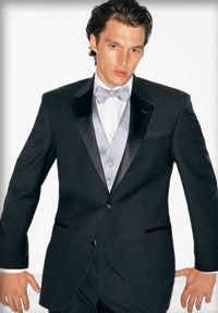 Mirage Slim-Fit Calvin Klein Tuxedo Package; Groomsmen