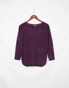 Loganberry striped sweater from Margaret O'Leary