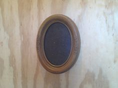 Vintage Ornate Wooden Floral Oval Shabby Chic Picture by vintapod, $10.00