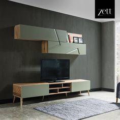 #zettdekor #mobilya #furniture #ahşap #wooden #yatakodasi #bedroom #yemekodasi #diningroom #ünite #tvwallunits #yatak #bed #gardrop #wardrobe #masa #table #sandalye #chair #konsol #console #dekor #decor #dekorasyon #decoration #koltuk #armchair #kanepe #sofa #evdekorasyonu #homedecoration #homesweethome #içmimar #icmimar #evim #home #inegöl #bursa #turkey Tv Cabinet Design, Tv Unit Design, Tv Wall Design, Hall Design, House Design, Italian Furniture Design, Luxury Furniture, Furniture Decor, Lcd Panel Design