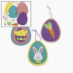 Egg Ornament Craft Kit - Adult Crafts & Ornament Crafts