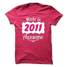 Made in 2011 legend year TN003 - #team shirt #tee aufbewahrung. CLICK HERE => https://www.sunfrog.com/Names/Made-in-2011-legend-year-TN003.html?68278