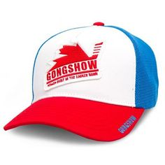 Shop Gongshow Nation of Beauties Hat from Pure Hockey. We offer the largest selection of Adjustable Hats at the lowest prices, guaranteed. Gongshow Hats, Gongshow Hockey, Back Home, Pure Products, My Style, Sick, Beauty, Shopping, Beauty Illustration