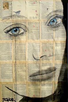 "Saatchi Online Artist Loui Jover; Drawing, ""sparrow"" #art"