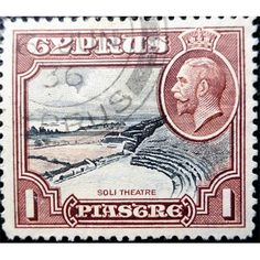 Cyprus, King George V, Ancient Cypriot Soli Theatre used
