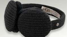 UGG, the Australian company best known for shearling boots and shoes is out with headphone earmuffs.