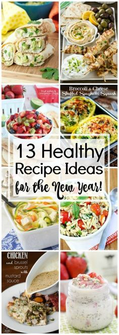 Healthy Recipes Ideas for the New Year