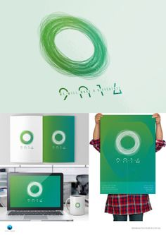 2014 Graduation identity by Alex Meeks, via Behance