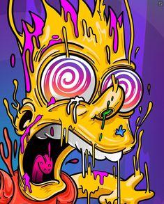 New funny art painting weird ideas Trippy Wallpaper, Graffiti Wallpaper, Cartoon Wallpaper, Graffiti Art, Iphone Wallpaper, Graffiti Lettering, Trippy Drawings, Funny Drawings, Art Drawings