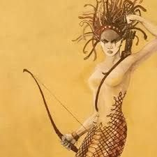 medusa bow and arrow - Google Search Medusa, Arrow, Princess Zelda, Bows, Tattoo, Google Search, Fictional Characters, Jellyfish, Arches