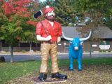 Paul Bunyan Logging Camp Museum │ Open Daily from 10am to 4:30 pm between May 1st and Sept 30th. │ Eau Claire