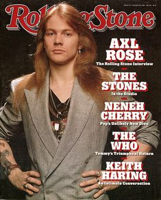 Axl Rose - Rolling Stone (1989 Aug)