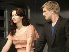 Katniss Train Ride Home Dress