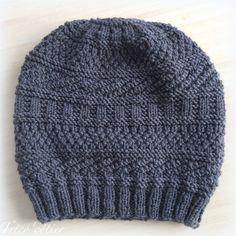 Génial ce bonnet ! Dustland un modèle de Stephen West Homme ou femme - tricot knitting pattern hat - Mon trico'côtier
