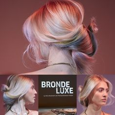 BRONDE LUXE autumn winter collection WELLA 2016 by brockmannundknoedler ITVA…