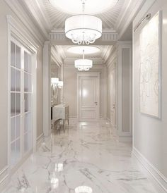 ✔ 49 discover ideas about home design 10 Marble Flooring Design, Home Room Design, House Design, Room Design, House, House Rooms, House Interior, Hallway Designs, Home Interior Design