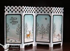 Christmas Screen by Cook22 - Cards and Paper Crafts at Splitcoaststampers