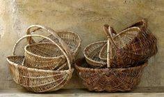 Wicker baskets in Provence.