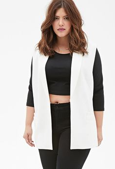 b888389c3867f1 I brought this vest and don t know how to rock it  ( Chiffon-Paneled Tuxedo  Vest