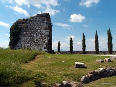 Castle of Fagagna in Friuli, Italy