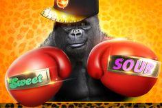 Campagne Perfetti Van Melle - Look-O-Look. Funexplosie Gorilla