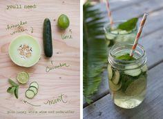 Cucumber Sangria