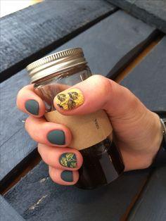 Nails art stamping
