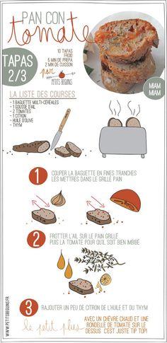 Tapas - Battle food #21 - Petits Béguins