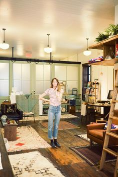 The West Village boutique shop Calliope created by Michael and Caroline Ventura full of artistic wares and vintage treasures.