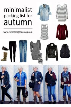 mom style // minimalist packing list // autumn trip // http://www.thismomsgonnasnap.com/mom-style-minimalist-packing-list-for-autumn/