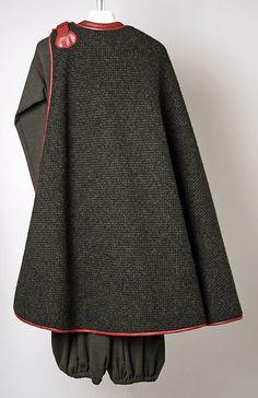 Bonnie Cashin. 1970. AW1970/71 Wool & Leather Ensemble