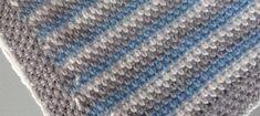 Vamos a explicar cómo tejer estas mantas de ganchillo para bebé con tamaño de minicuna, que puse en la cuenta de Instagram y cuyo patrón me habéis pedido