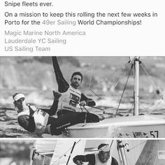 Snipe world champion in Spain well done Mates! Another MagicMarine Teamrider takes the line honors! #Blueoceanunlimited