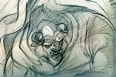 http://inspectorcleuzo.blogspot.com.au/  Glen Keane   Beauty and the Beast   Walt Disney Animation Studios