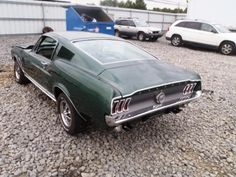 Large inventory of old Mustangs for sale - GT's, Fastbacks, Convertibles. 1965 Mustang Gt, Sn95 Mustang, Mustang For Sale, Ford Mustang Fastback, Project Cars For Sale, 1967 Shelby Gt500, Custom Muscle Cars, Ford Classic Cars, Dream Cars