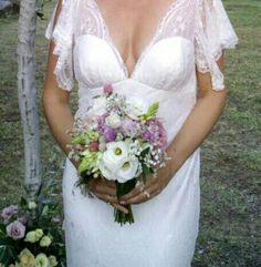 Bouquet da sposa. Fiori semplici. Luglio 2015